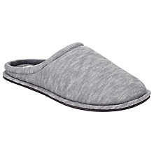 Buy Kin by John Lewis Textured Mule Slippers, Grey Online at johnlewis.com