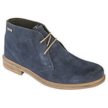 Buy Barbour Readhead Suede Chukka Boots, Navy Online at johnlewis.com