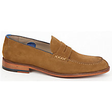 Buy Oliver Sweeney Chatburn Suede Loafers, Tan Online at johnlewis.com