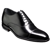 Buy Barker Winsford Goodyear Welt Leather Oxford Shoes, Black Online at johnlewis.com