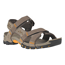Buy Timberland Eldridge Outdoor Leather Sandals, Pewter Online at johnlewis.com