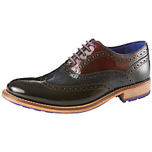 Buy Ted Baker Rissh 2 Oxford Leather Shoes, Brown Online at johnlewis.com
