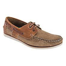 Buy Barbour Flinders Boat Shoes, Beige Online at johnlewis.com