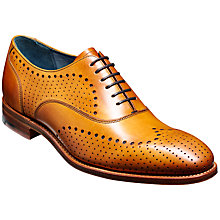 Buy Barker Trueman Leather Brogues, Cedar Online at johnlewis.com