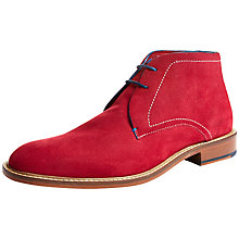 Buy Ted Baker Torsdi Suede Chukka Boots Online at johnlewis.com