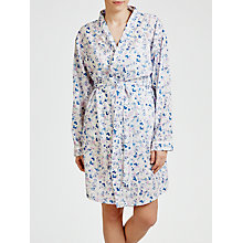 Buy John Lewis Ditsy Floral Robe, Pink Multi Online at johnlewis.com