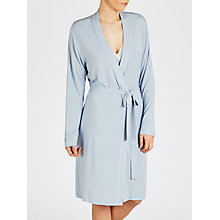 Buy John Lewis Olivia Jersey Robe, Blue Online at johnlewis.com