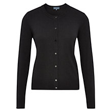 Buy Viyella Knitted Cardigan, Black Online at johnlewis.com