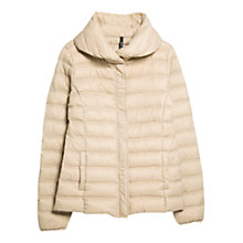 Buy Mango Foldable Feather Down Jacket Online at johnlewis.com