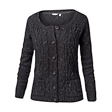 Buy Fat Face Alvie Cable Cardigan, Phantom Online at johnlewis.com
