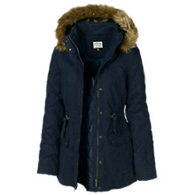 Buy Fat Face Quilted Short Parka Online at johnlewis.com