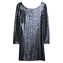 Buy Mango Sequin Dress, Medium Blue Online at johnlewis.com