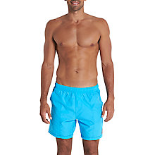 "Buy Speedo Luxury Leisure 16"" Watershort Swim Shorts Online at johnlewis.com"