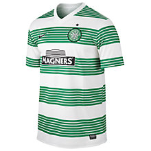Buy Nike Celtic 2014/2015 Short Sleeve Home Shirt, Green/White Online at johnlewis.com