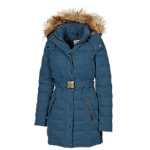 Buy Fat Face Florence Puffer Jacket, Bolt Blue Online at johnlewis.com