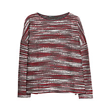 Buy Mango Flecked Oversized Sweatshirt Online at johnlewis.com
