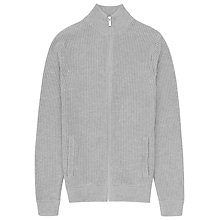Buy Reiss Wolf Zipped Jumper, Grey Online at johnlewis.com
