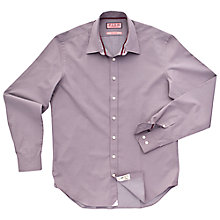 Buy Thomas Pink Weldon Print Shirt, Grey/Red Online at johnlewis.com