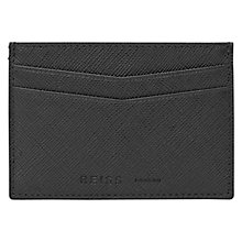 Buy Reiss Adriano Leather Card Holder Online at johnlewis.com
