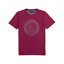 Buy Ted Baker Tarbert T-Shirt, Pink Online at johnlewis.com
