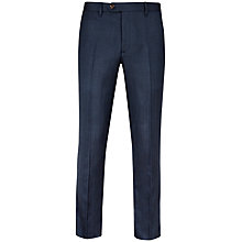 Buy Ted Baker Altro Herringbone Trousers, Blue Online at johnlewis.com