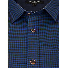 Buy Ted Baker Toocalm Long Sleeve Check Shirt Online at johnlewis.com