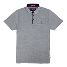 Buy Ted Baker Wudyar Printed Collar Polo Shirt Online at johnlewis.com