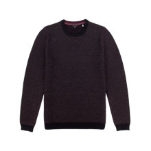 Buy Ted Baker Pinvin Stitch Detail Jumper, Red Online at johnlewis.com