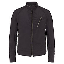 Buy Belstaff K Racer Cotton Jacket, Black Online at johnlewis.com