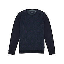 Buy Ted Baker Mintty Jersey Top, Navy Online at johnlewis.com