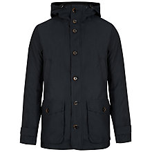 Buy Ted Baker Lysat 3-in-1 Jersey Inner Hooded Coat, Navy Online at johnlewis.com
