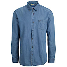Buy Selected Homme Collect Denim Shirt, Light Blue Online at johnlewis.com