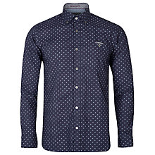 Buy Ted Baker Pokey Geo Print Shirt, Navy Online at johnlewis.com