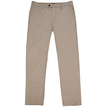 Buy Ted Baker Talisas Slim Trousers, Brown Online at johnlewis.com