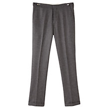 Buy Jigsaw Speckled Wool Trousers, Grey Online at johnlewis.com