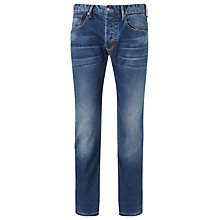 Buy Armani Jeans Medium Wash Slim Jeans, Blue Online at johnlewis.com