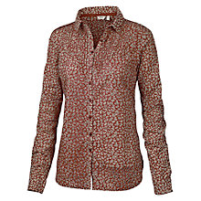 Buy Fat Face Pretty Primrose Shirt, Crimson Online at johnlewis.com