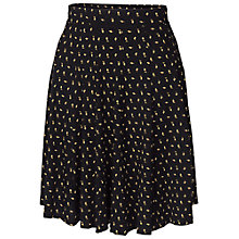Buy Fat Face Jersey Mini Bud Skirt, Phantom Online at johnlewis.com