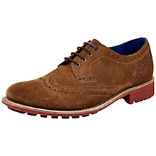 Buy Ted Baker Hontaar Suede Lace-Up Brogues Online at johnlewis.com