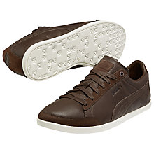 Buy Puma LoPro Catskil Citi Series Trainers, Chocolate Online at johnlewis.com