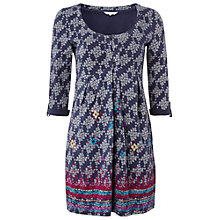 Buy White Stuff Caravan Kaftan, Irish Blue Online at johnlewis.com