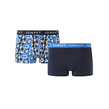 Buy Gant Floral Trunks, Pack of 2 Online at johnlewis.com