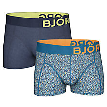 Buy Bjorn Borg Water Colour, Pack of 2, Blue Online at johnlewis.com