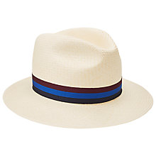Buy John Lewis Panama Hat, Natural Online at johnlewis.com