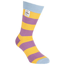Buy Jollie Goods The Jester Striped Socks Online at johnlewis.com