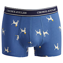 Buy Joules Party Pants Trunks, Blue Online at johnlewis.com