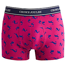 Buy Joules Hop On It! Trunks, Pink Online at johnlewis.com
