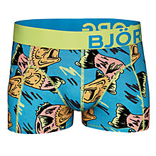 Buy Bjorn Borg Crazy Fish Trunks, Blue Online at johnlewis.com