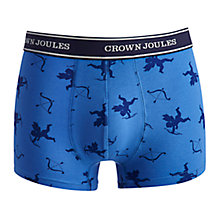 Buy Joules Be My Beau Trunks, Blue Online at johnlewis.com