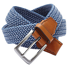 Buy Selected Homme Bennet Woven Belt Online at johnlewis.com